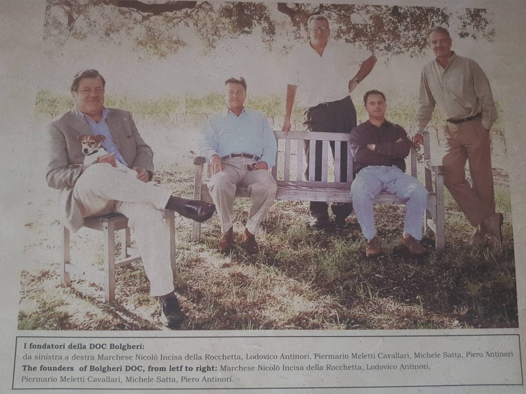 25° anniversario della doc bolgheri