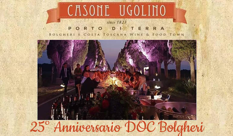 25° Anniversario DOC Bolgheri